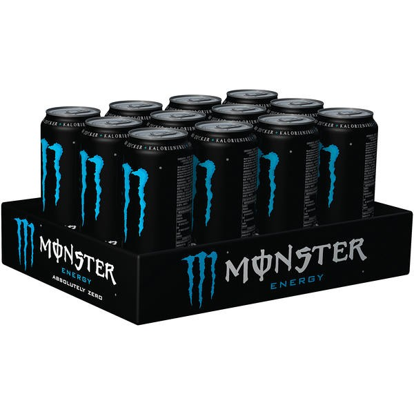 Monster Energy Absolutly Zero 12x0,5L