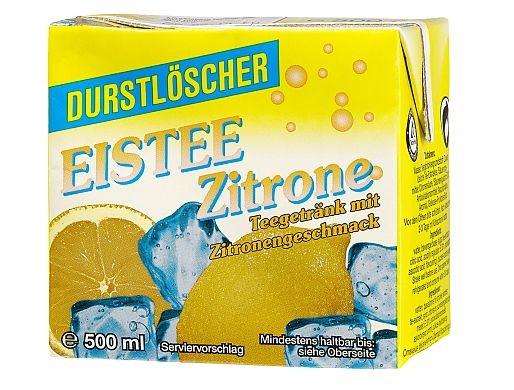 Durstlöscher Eistee Zitrone 12x0,5L