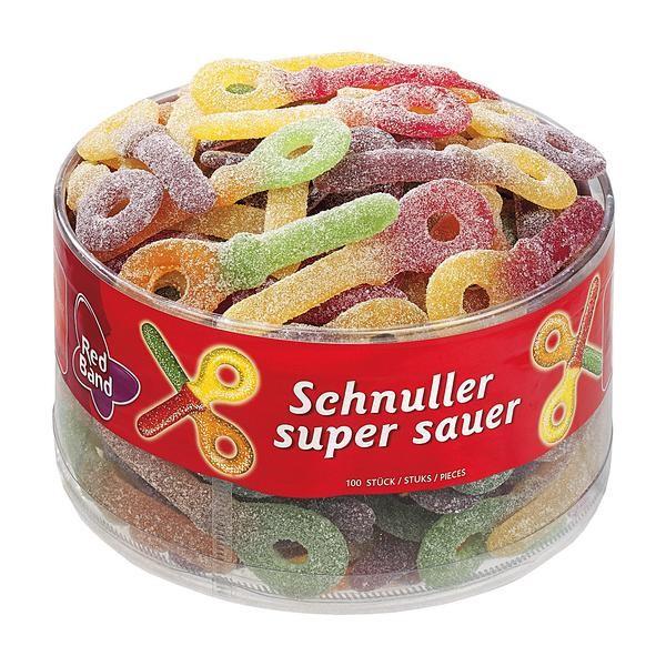 Red Band Super Saure Schnuller 1x100