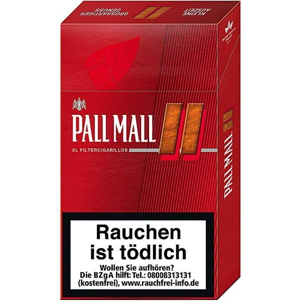 Pall Mall Full Flavour Cigarillos
