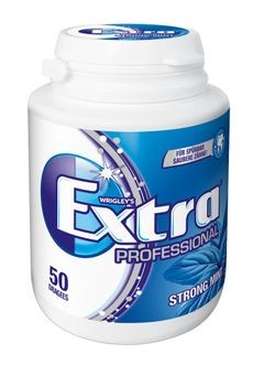 Wrigley´s Extra Prof. Strong Mint 1x50 Dragees