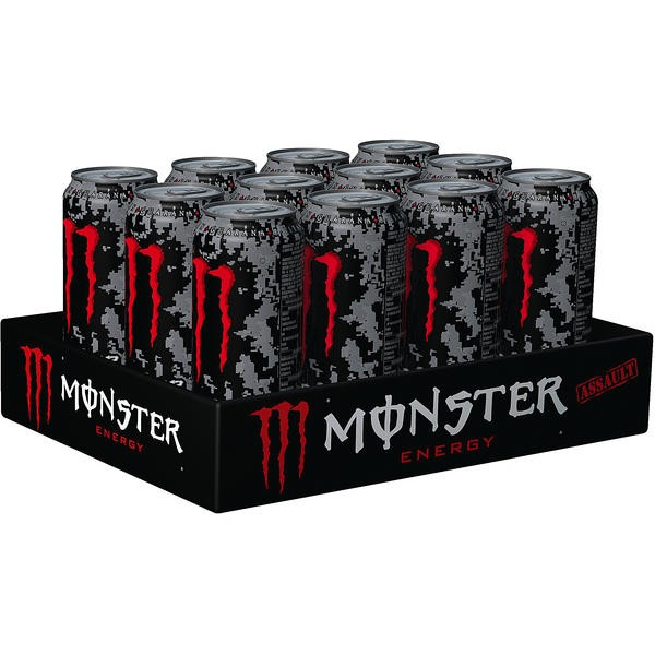 Monster Energy Assault 12x0,5L