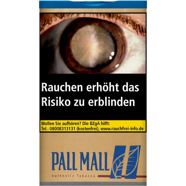 Pall Mall Blue Authentic 65g