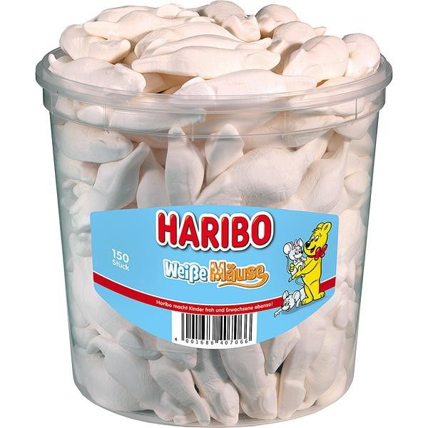 Haribo Weiße Mäuse 1x150