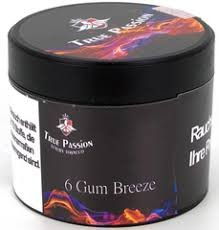 True Passion 6 Gum Breeze 200g