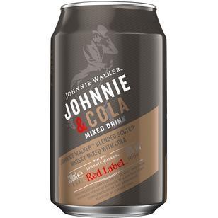 Johnnie Walker Red Label & Cola 10% vol. 0,33L
