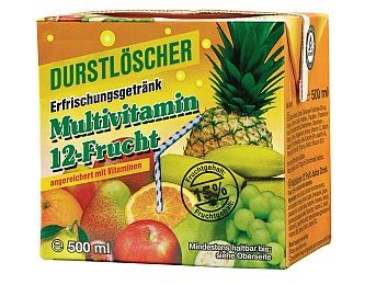 Durstlöscher Multivitamin 12x0,5L
