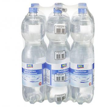 Aro Mineralwasser Naturelle 6x1,5L