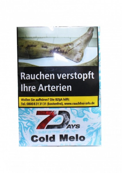 7Days Classic - Cold Melo - 20g