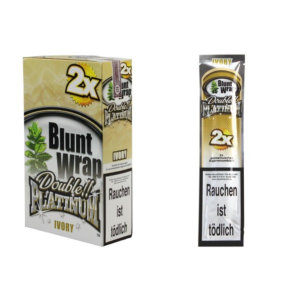 Blunt Wrap Ivory 25x