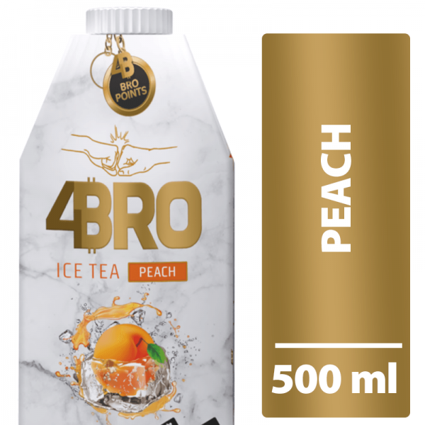 4BRO ICE TEA PEACH 8 x 500ml