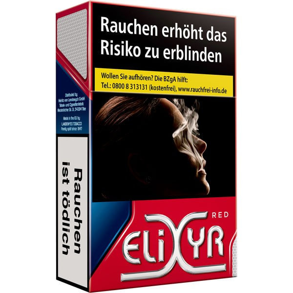 Elixyr Red Cigarettes 6,20€