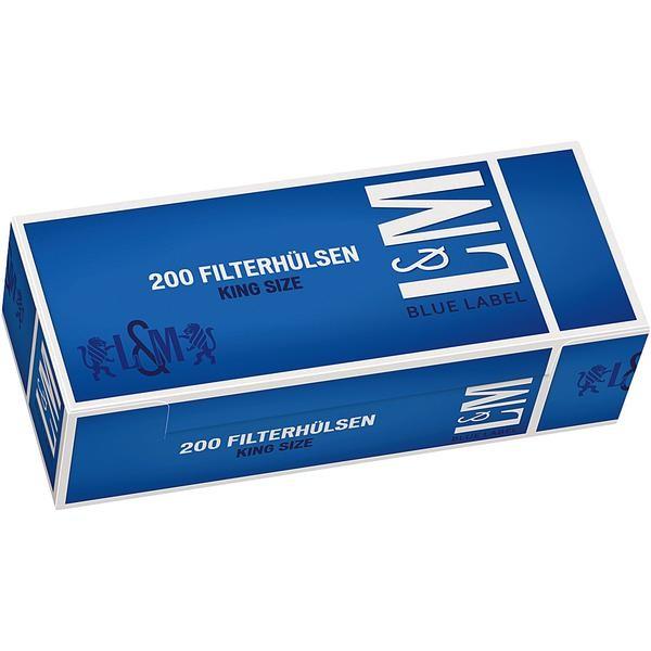 L&M Hülsen Blue 5x200