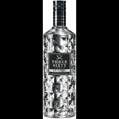 Three Sixty Vodka 37,5% Vol. 0,7L