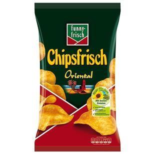 Funny Frisch Chips Oriental 1x175g