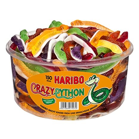 Haribo Crazy Python 1x150